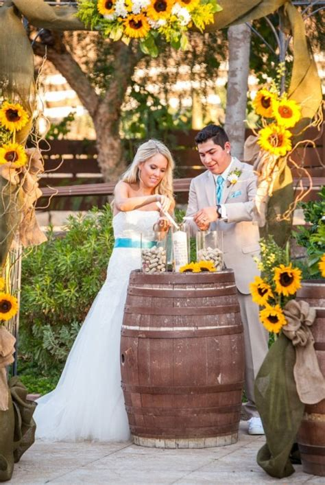 outdoor wedding ceremony ideas 3 unique barrel decorations for outdoor wedding reception weddceremony