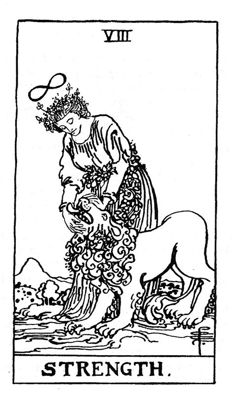 printable tarot cards black and white free waite tarot coloring pages