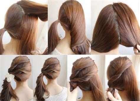 easy hairstyles for step by step 20 easy hairstyles collection 2017 sheideas