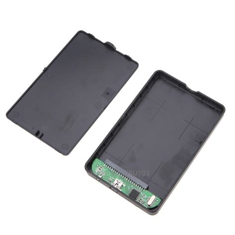 Harddisk Portable portable external drive usb 2 0 to ide 2 5 quot hdd enclosure bag cable ebay