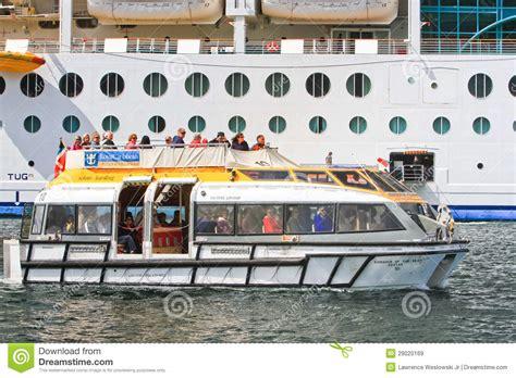 royal caribbean new boat royal caribbean cruise ship tender boat editorial stock