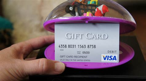 Fun Ways To Give Gift Cards - a fun new way to give gift cards just short of crazy
