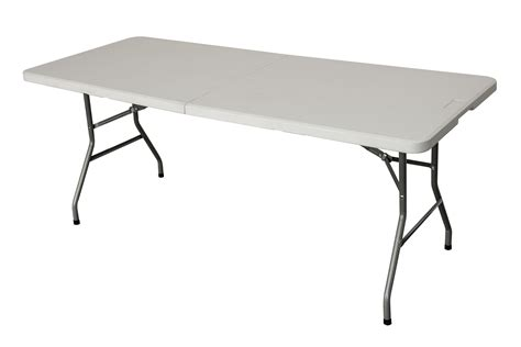 Folding 6 Foot Table New Heavy Duty Folding Table 6 Ft Cing Picnic Banquet Garden Tables 6ft Ebay