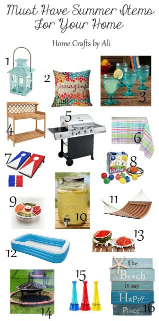 must have household items must have summer items for your home home crafts by ali