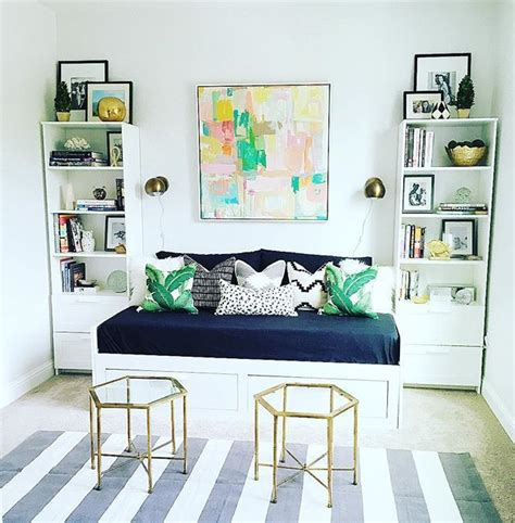 ikea billy bookcase white lime green colors combination in an eclectic family room minimalist image result for hemnes daybed billy bookcase combination