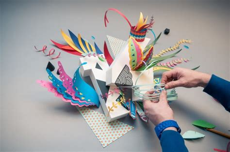 Paper Craft Studio - 2014 paper craft wallpaper by ink studio strictlypaper