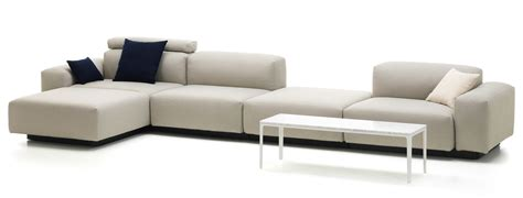 chaise and four vitra soft modular sofa four seater platform chaise