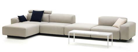 modular settee vitra soft modular sofa quatre places plateforme