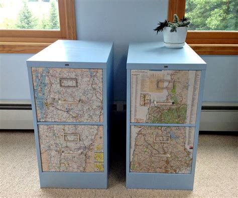 Upcycled Metal Filing Cabinet 12 Best Images About The Future Of The Filing Cabinet On Metal Decoupage And Malm