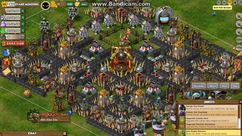 Backyard Monsters Best Base by Backyard Monsters Base Of V1 Level 10 Town