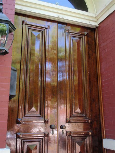 Walnut Kitchen Cabinets Historic Restoration Reising Son Originals