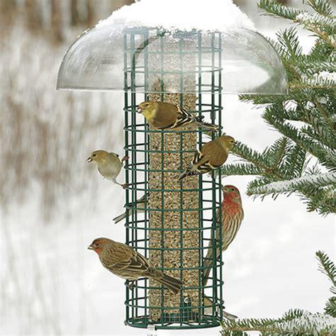 duncraft 2959 squirrel blocker selective bird feeder