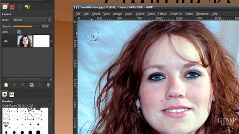 tutorial photoshop hair cut remove the background from hair in gimp tutorial cut