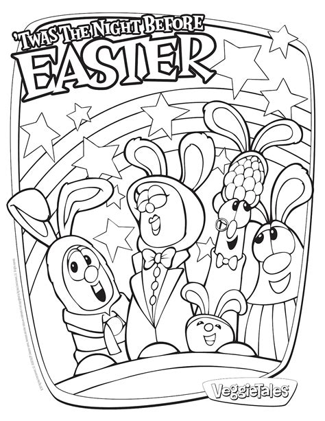 free easter christian coloring pages