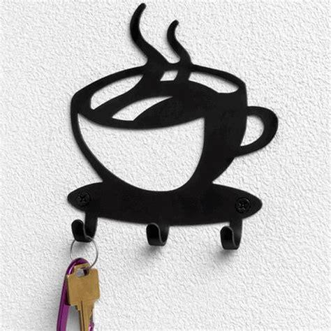 Coffee Cup Rack Wall Mount by 20 2pcs Lot Coffee Cup Mug Decrotive Metal Wall Mount