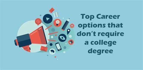 Best Mba Programs Don T Require Undergrad by Top Career Options That Don T Require A Degree Career