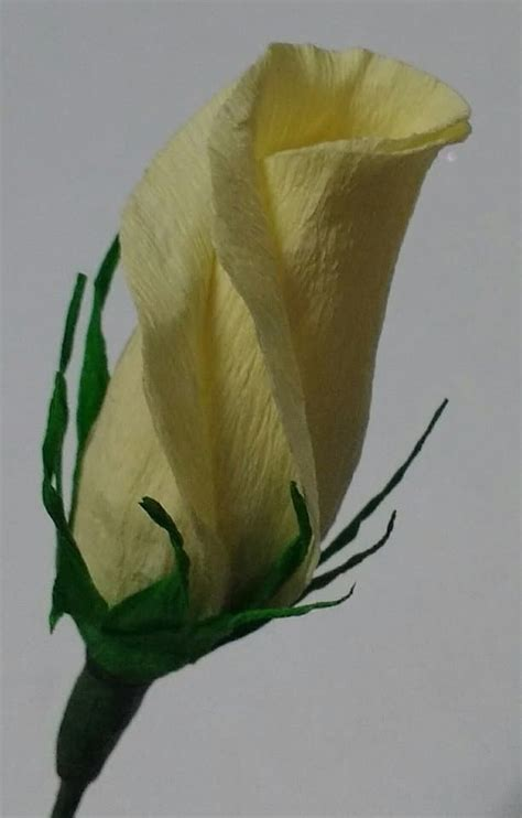How To Make Paper Buds - how to make crepe paper buds simple craft ideas