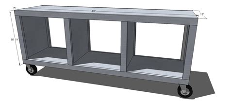 cubby bench plans  woodworking