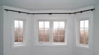 Bay Window Curtain Rod » Modern Home Design