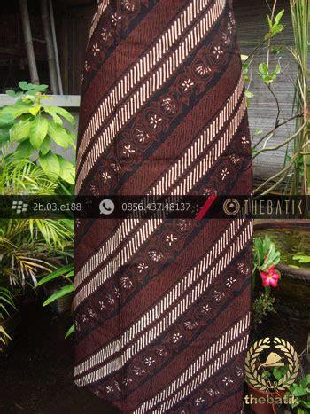 Parang Seling jual batik sutera jogja motif parang seling kembang