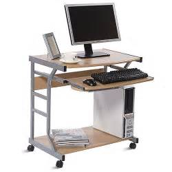 Movable Computer Desk Computer Desk On Wheels Rooms