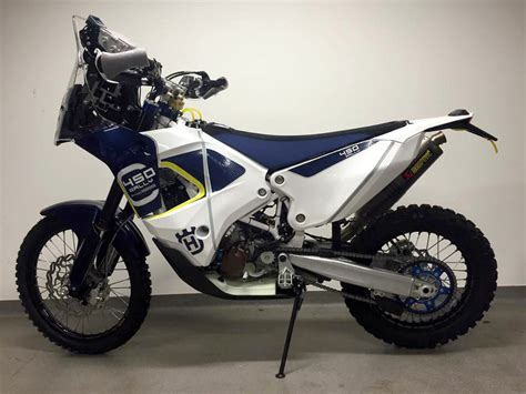 Rally Motorrad by 2nd Look Husqvarna Factory 450 Rally Bike Moto Related