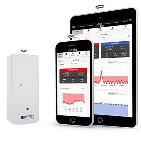 iphone app to check room temperature lowest price temp stick wireless temperature sensor 24 7 monitoring alerts unlimited