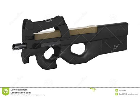 3d gun image 3d home architect belgium submachine gun design by 3d graphic in isolated