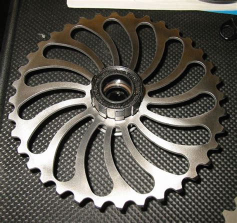 Hub Free Hub Speed 36t found 63g carbon fiber cassette from experimental