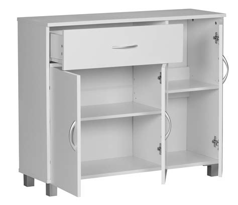 Sideboard Tiefe 35 Cm by Wohnling Sideboard Doors Drawer Cupboard Buffet Furniture