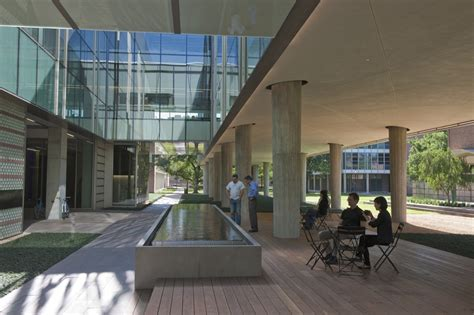 office courtyard design gallery of landscape design for brockman hall for physics