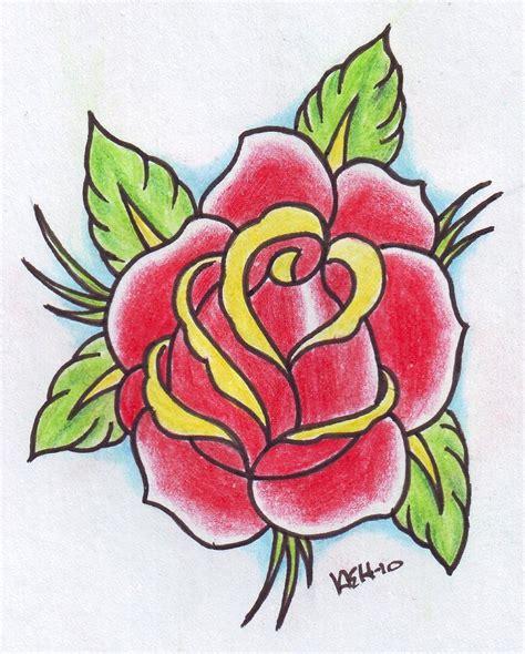 old rose tattoo school tatu ink