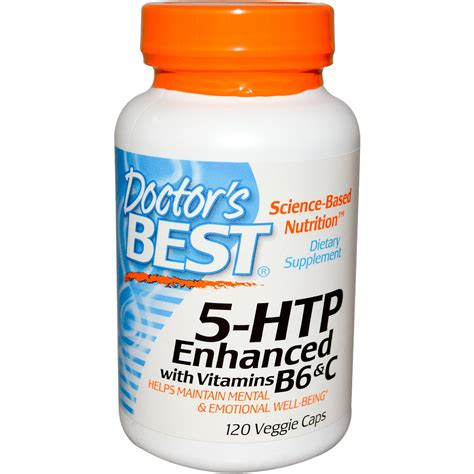 supplement htp doctor s best 5 htp enhanced with vitamins b6 c 120