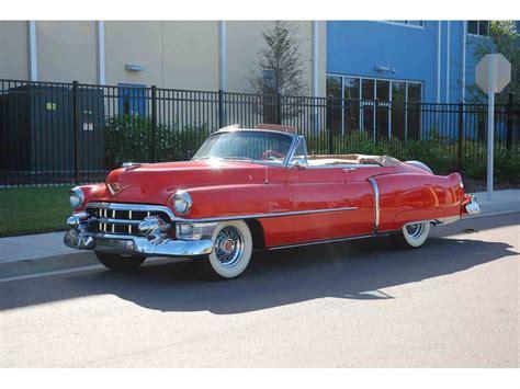 1953 Cadillac Convertible 1953 cadillac convertible for sale classiccars cc