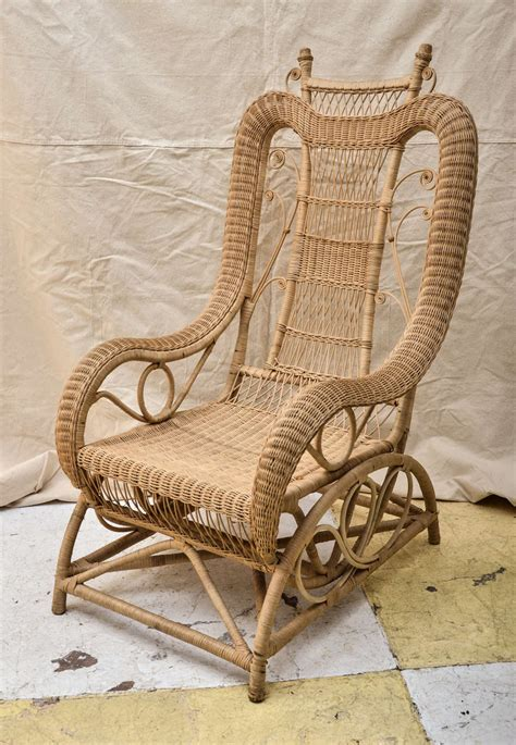 victorian armchairs victorian style wicker armchair at 1stdibs