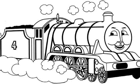 large coloring pages of thomas the train thomas and friends coloring pages edward allmadecine