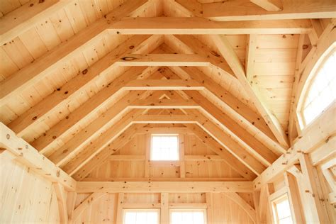 Dormer Shed Our Authentic Post Amp Beam Now Available As A Shed The