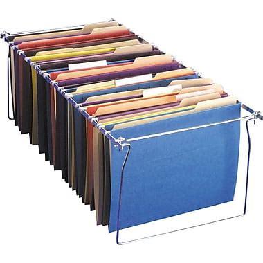 hanging file frames for file cabinets oic 174 hanging file folder frames staples 174