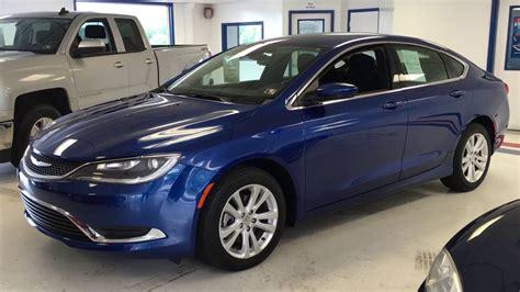 Chrysler Blue by 2015 Chrysler 200 Blue Zb691415