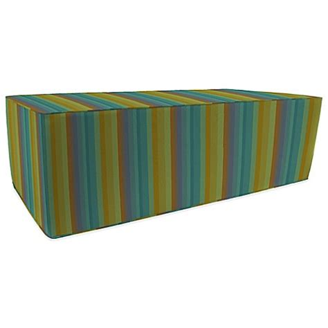 bed bath and beyond astoria outdoor double pouf ottoman in sunbrella 174 astoria bed