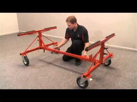 truck bed dolly innovative truck bed dolly at grade a tools youtube