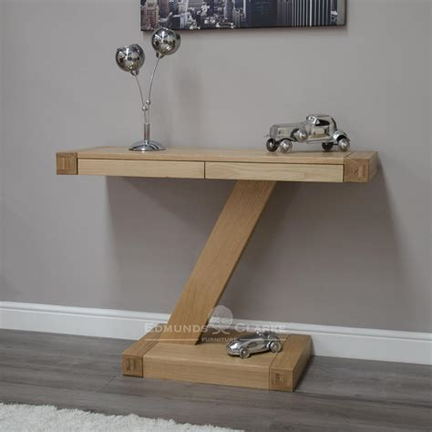 Z Oak Console Table Z Designer Solid Oak Modern Console Table Console Tables And Tables Buy Pine Oak