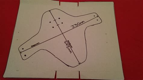 how to make a simple mudguard template by stotty1594