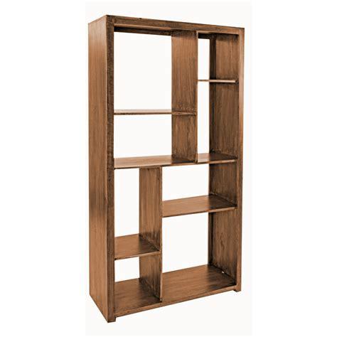 libreria in legno libreria legno di mango librerie etniche
