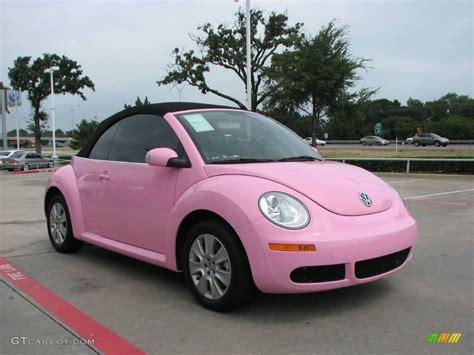 volkswagen beetle pink convertible beetle convertible pink