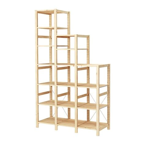 scaffali ivar ikea ivar 3 sections shelves ikea