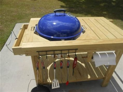 weber grill table plans weber grill table diy how to build a picnic table with