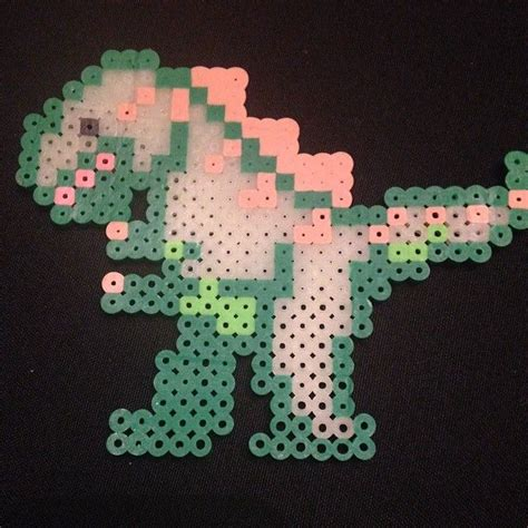 dinosaur perler bead patterns 17 best images about dinosaurs on perler bead