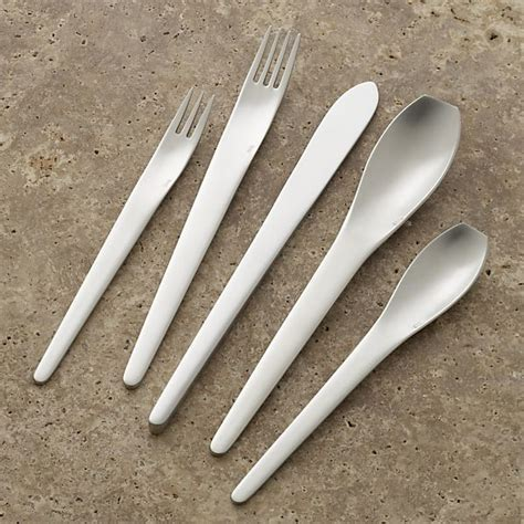 modern flatware reyes 20 piece flatware set contemporary flatware by