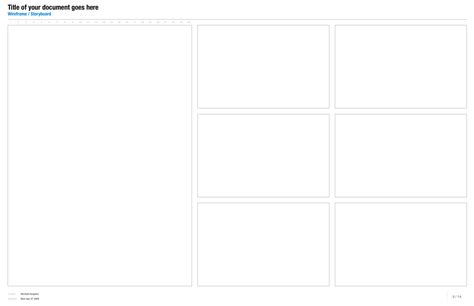 storyboard illustrator template images templates design